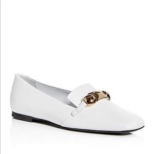 Burberry Amy Leather Loafers 36.5